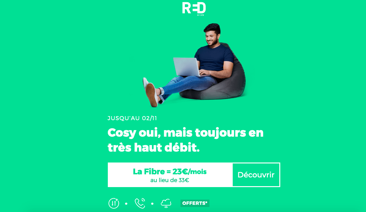 box internet pas chère RED by SFR