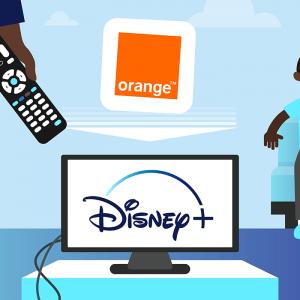Orange et Disney+.