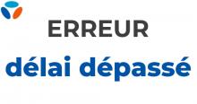 Erreur délai dépassé Bouygues Telecom.