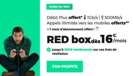 RED box en promo.