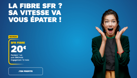 SFR box internet fibre optique.