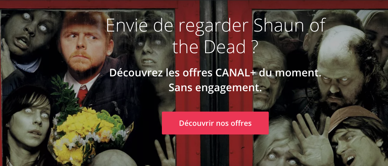 Shaund of the Dead Halloween Canal+