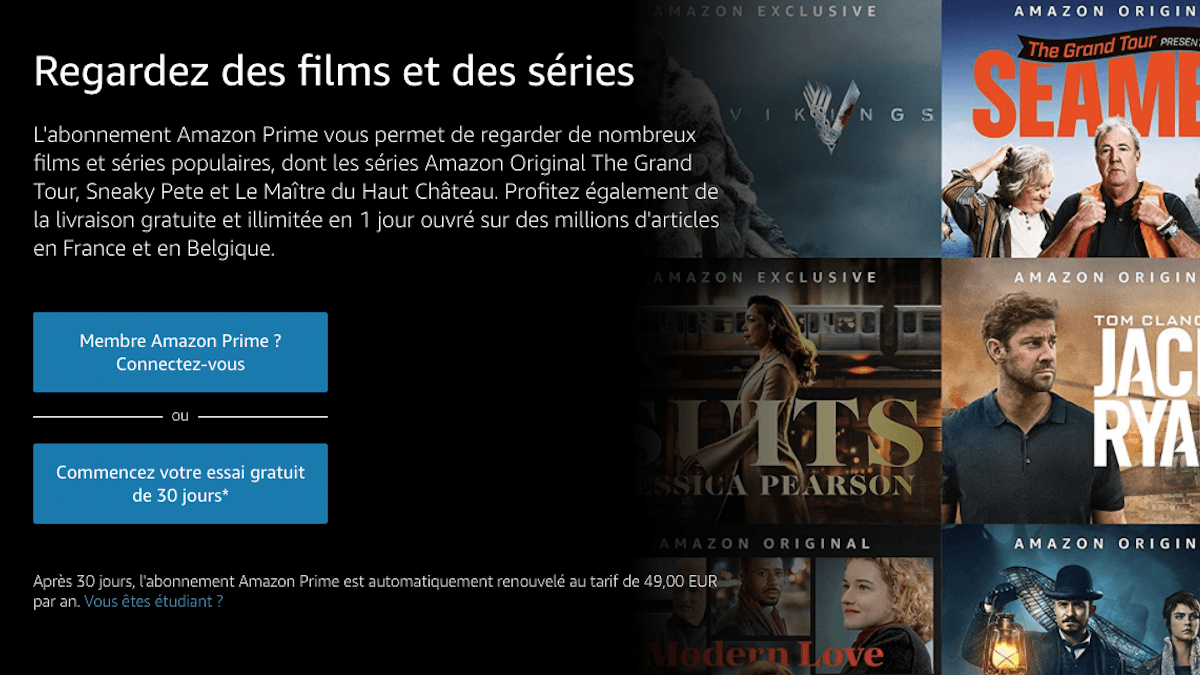 Profiter de Amazon Prime Video sur sa box internet