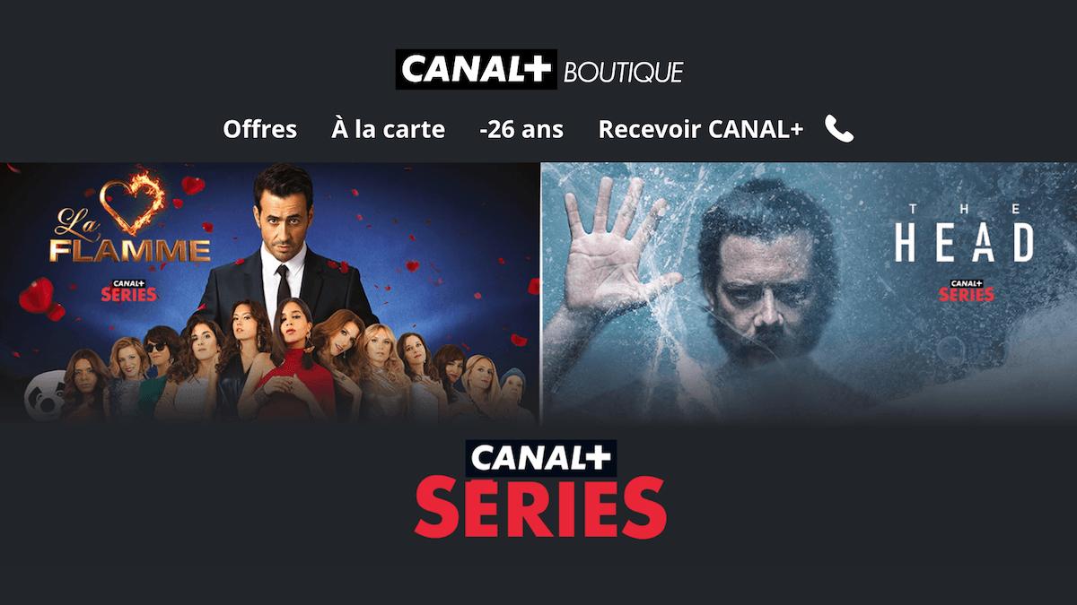 Profiter de CANAL+ Série sur sa box internet