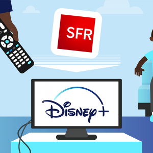 Profiter de Disney+ chez SFR.