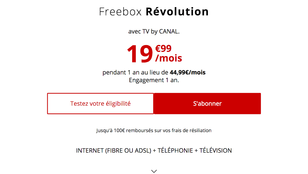 Abonnement internet confinement télétravail Freebox