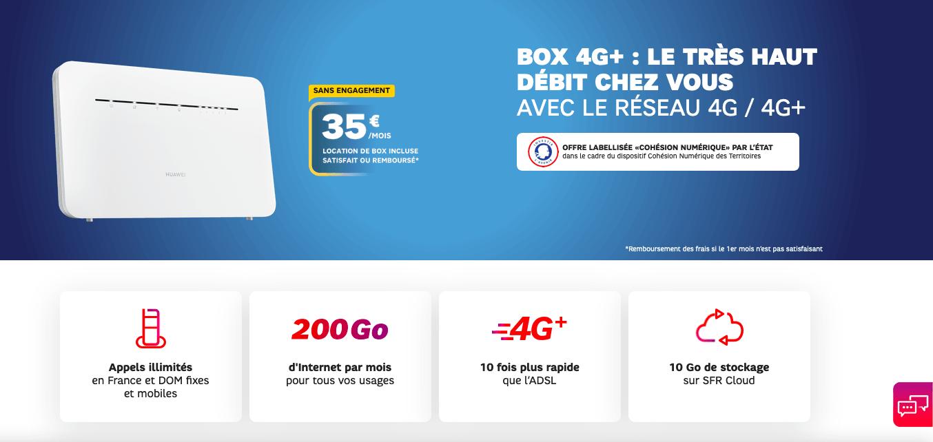 Box 4G+ SFR