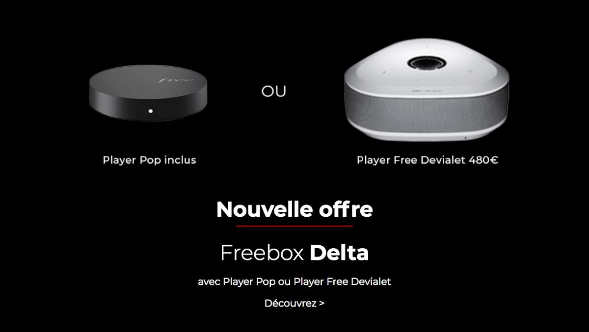 Box internet Netflix Freebox Delta fibre Free