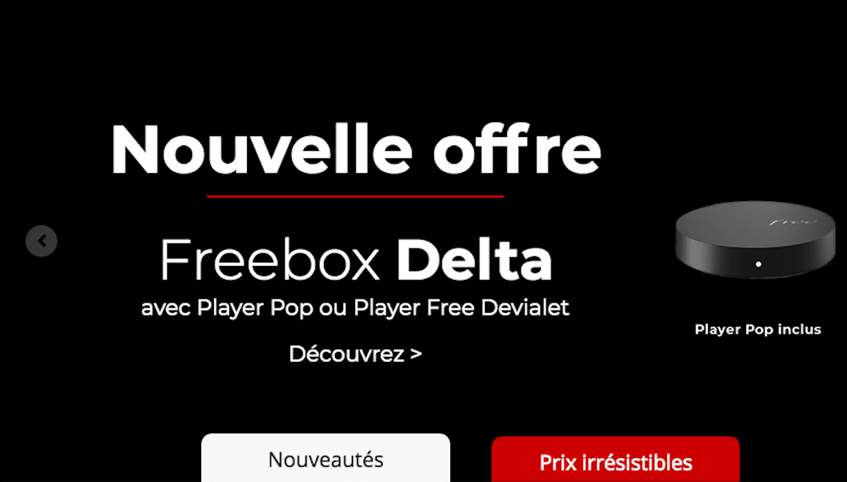 Freebox Delta Free triple-play