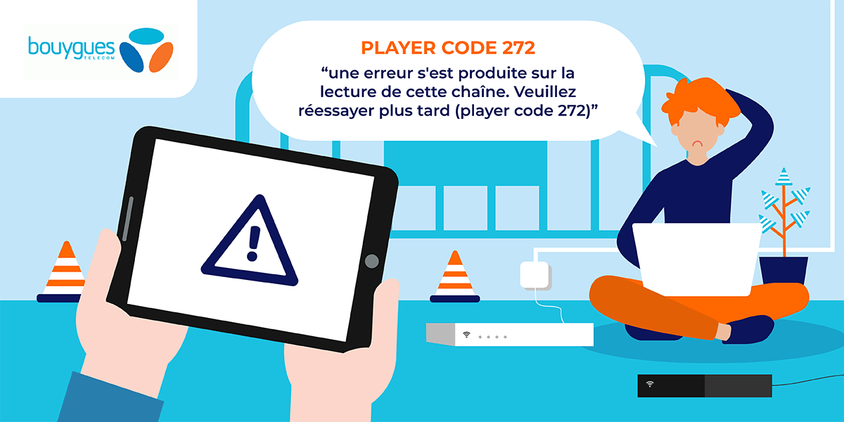 Erreur B.tv Bouygues Telecom.