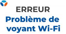 Bouygues Telecom : problème de Wi-Fi.