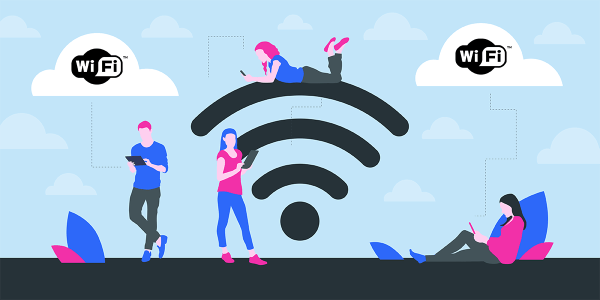 Les normes Wi-Fi.