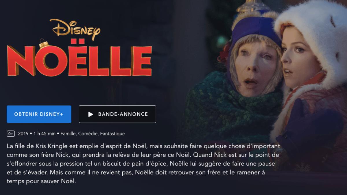 Noëlle sur Disney+