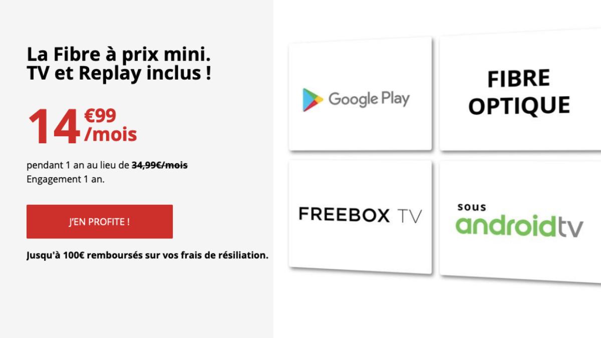 Des options avantageuses avec la Freebox mini 4K.