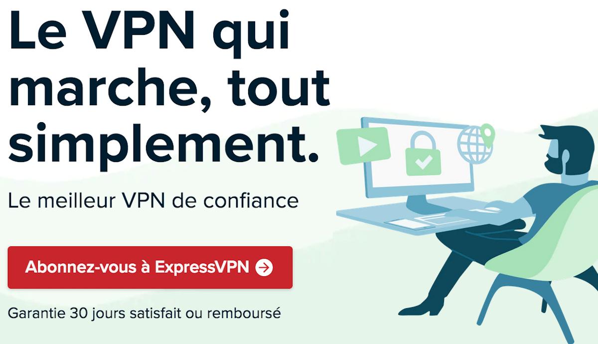 VPN en promo contrat ExpressVPN