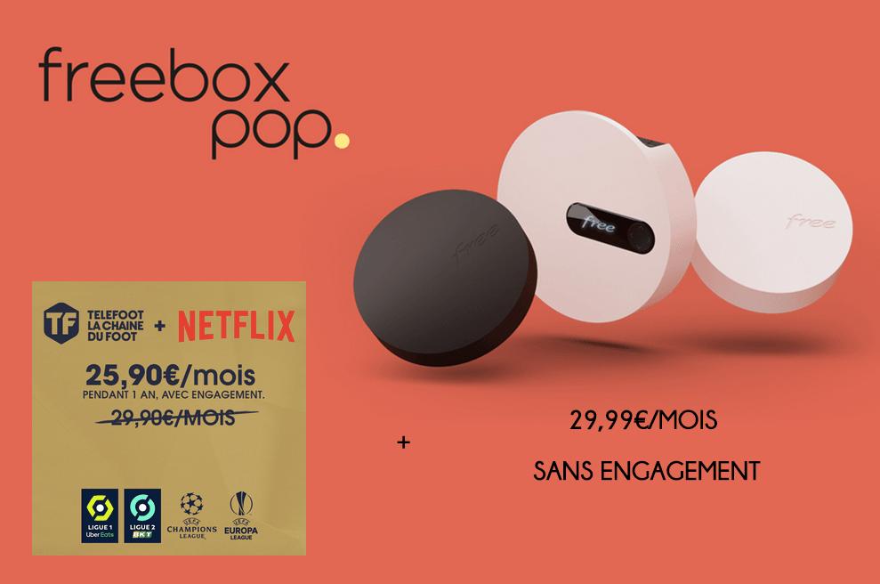 la freebox pop pour regarder Telefoot