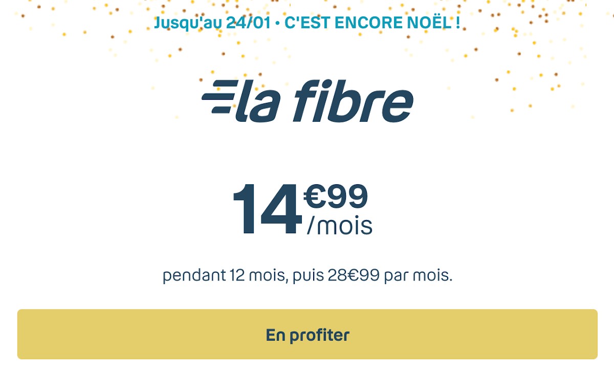 Box internet fibre optique Bouygues Telecom Bbox Fit