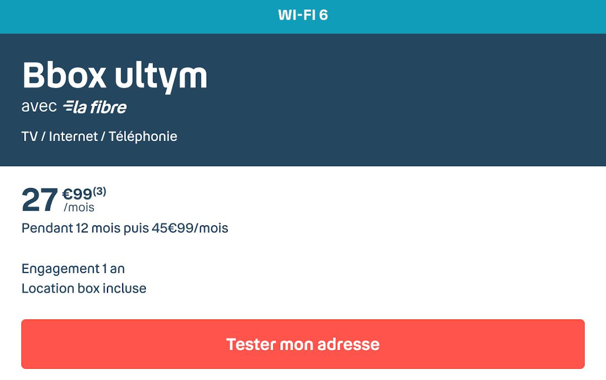 Box internet gamer Bbox Ultym Bouygues Telecom