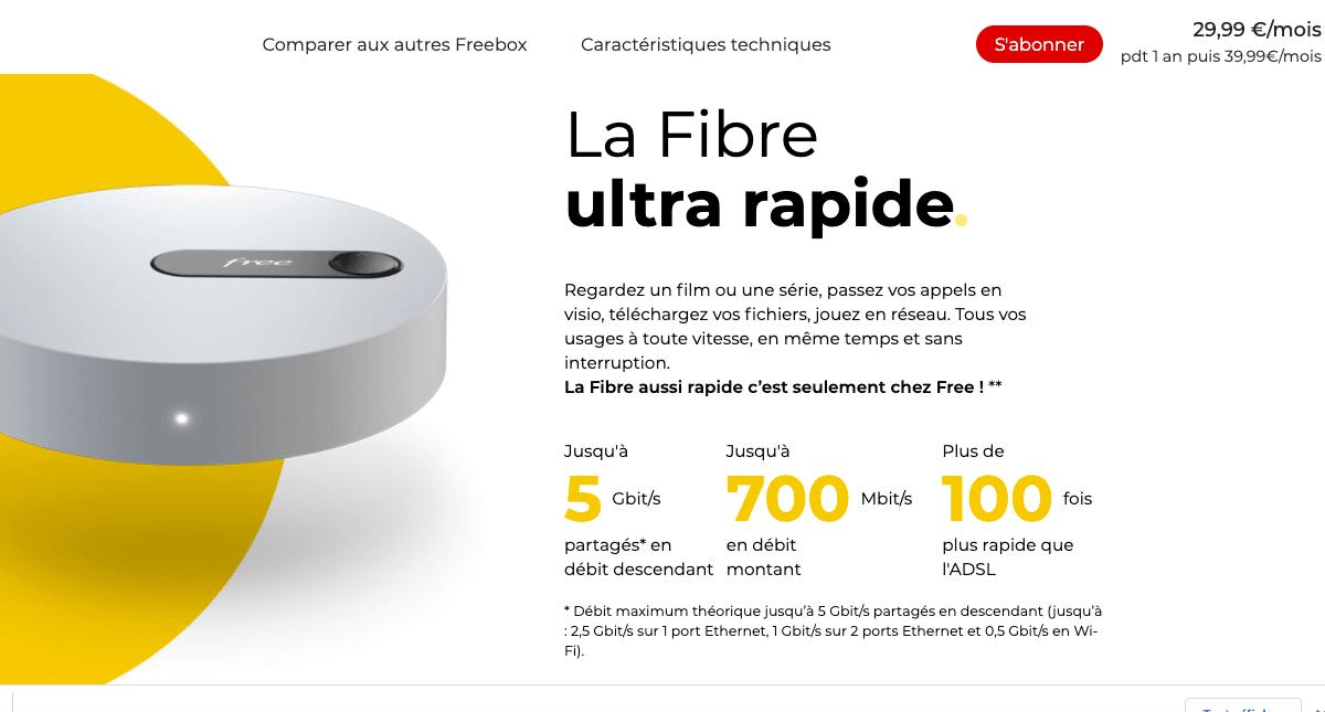 Freebox Pop de Free