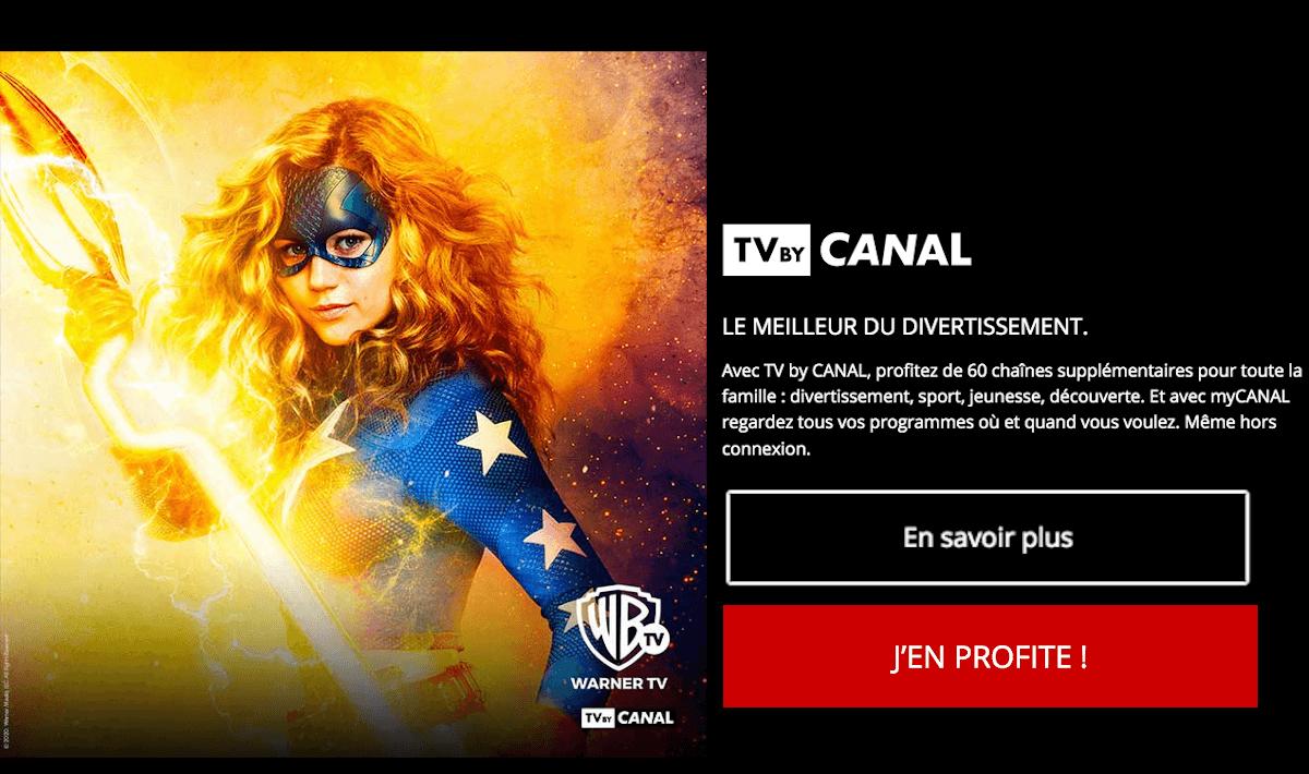 Freebox Révolution box avec TV by CANAL
