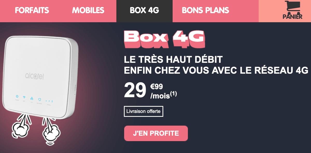 NRJ Mobile box 4G