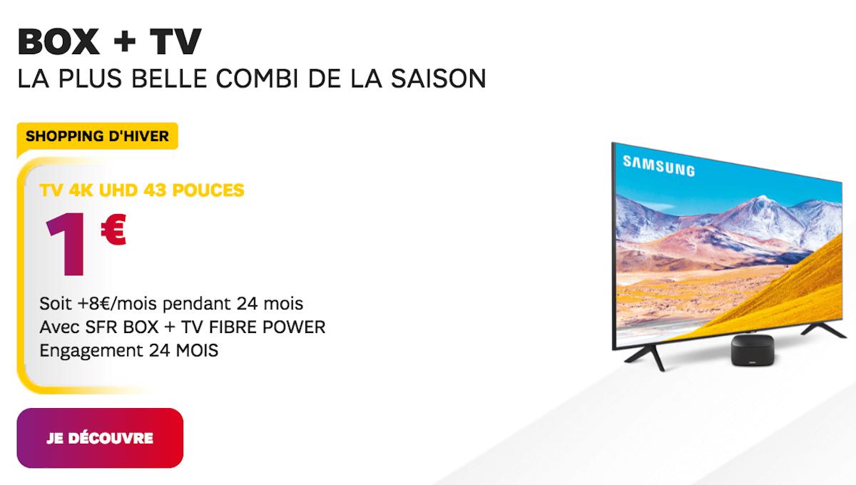 Smart TV Samsung 1€ SFR