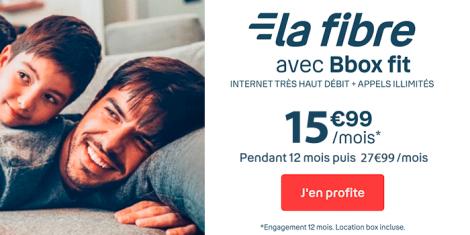 Bbox Fit fibre en promotion.
