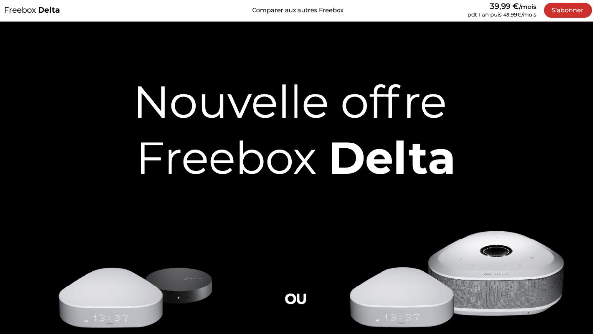box avec netflix freebox delta