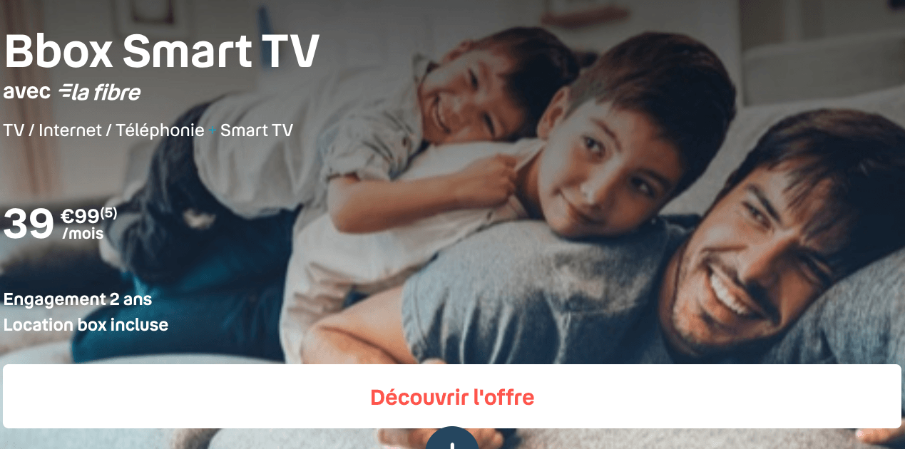 Le pack Bbox Smart TV