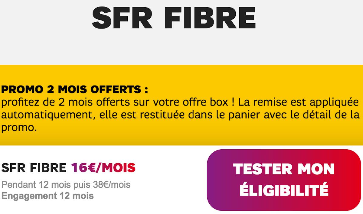 Box internet SFR Starter Fibre