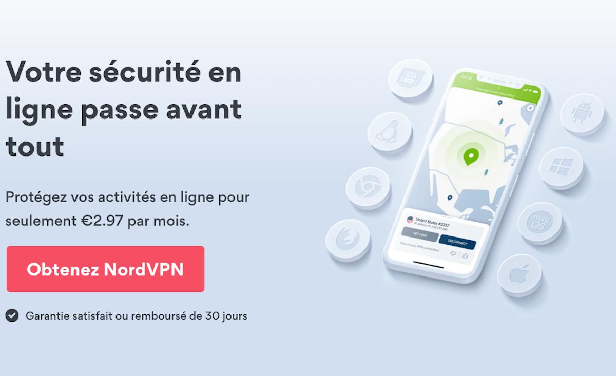 NordVPN abonnement VPN