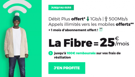 Promo RED Box fibre optique.