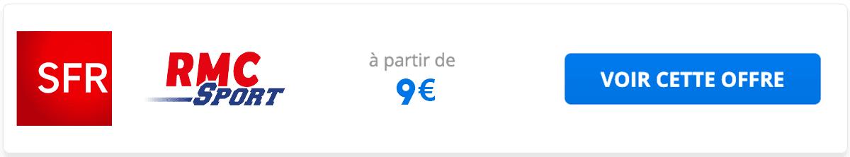 SFR offre RMC Sport 9€