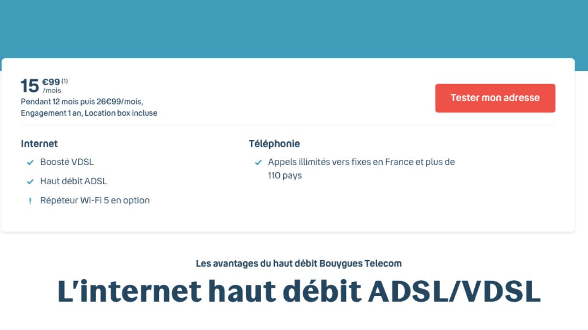 box adsl bouygues telecom