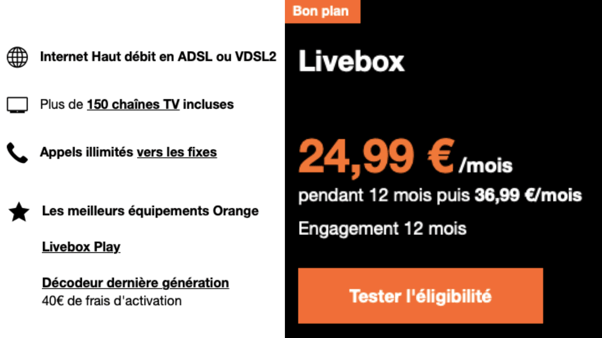box adsl orange