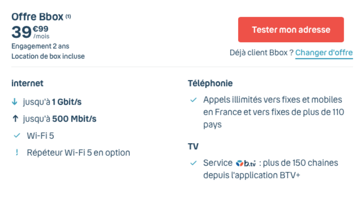 box internet de bouygues telecom
