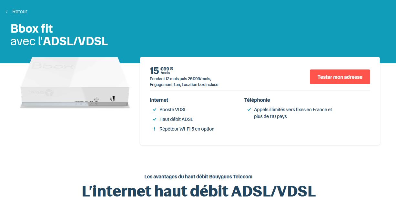 BBox Fit ADSL
