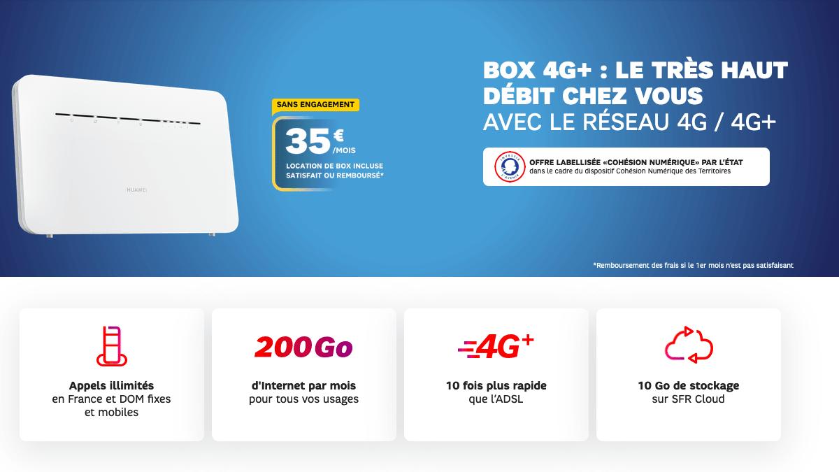 Box internet 4G SFR