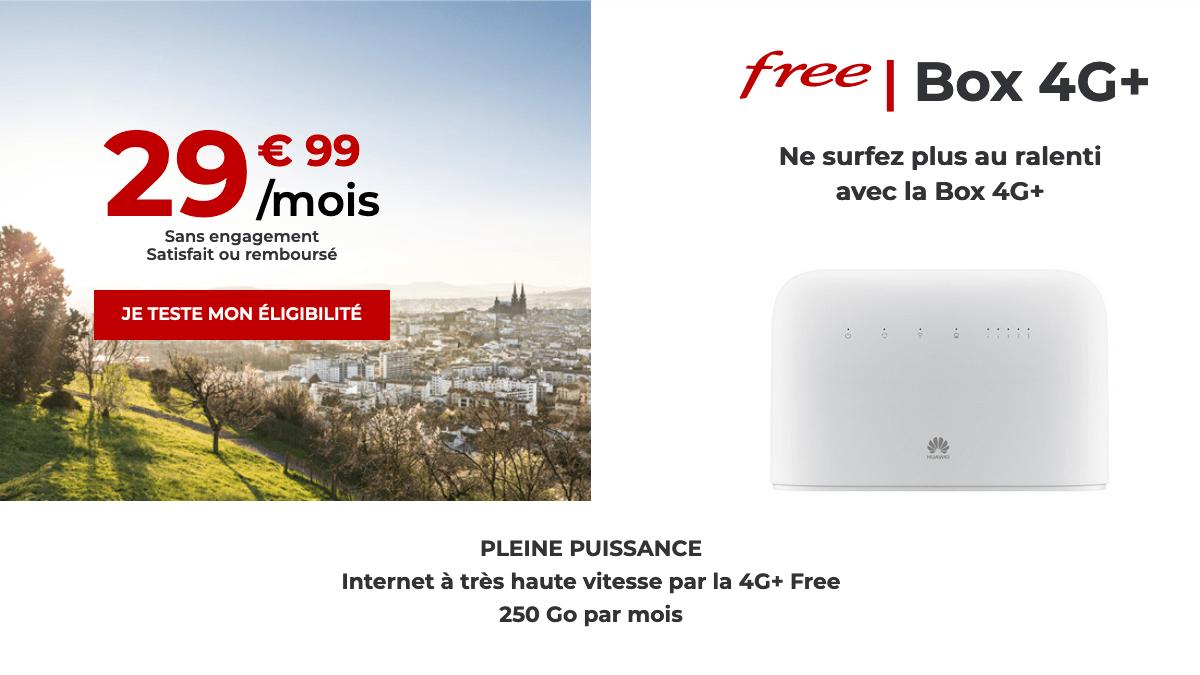 La box 4G+ de Free