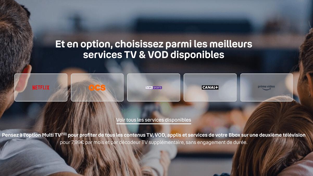 Boîte Internet Bouygues ARCH 4K