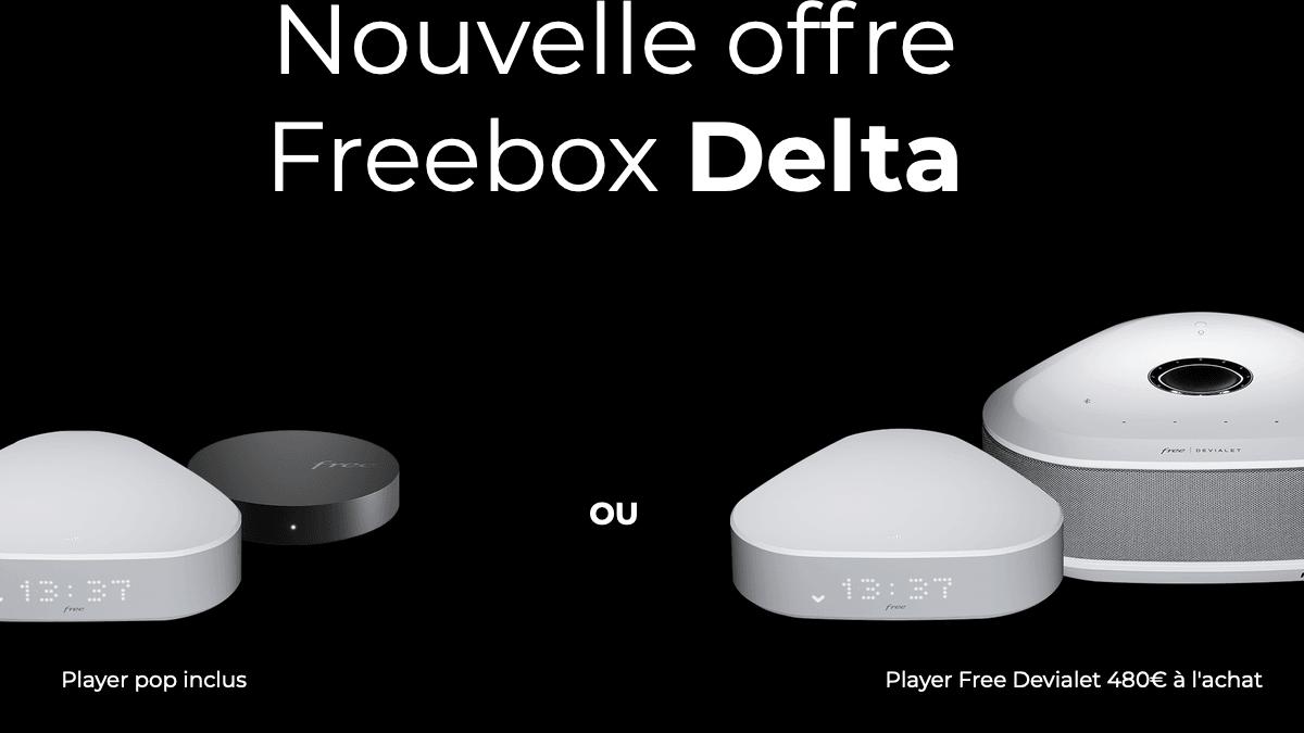 La Freebox Delta pour 39,99€/mois