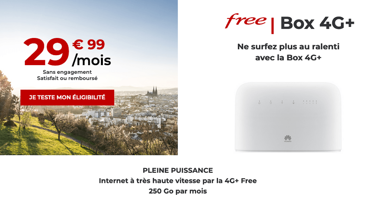 free box 4G