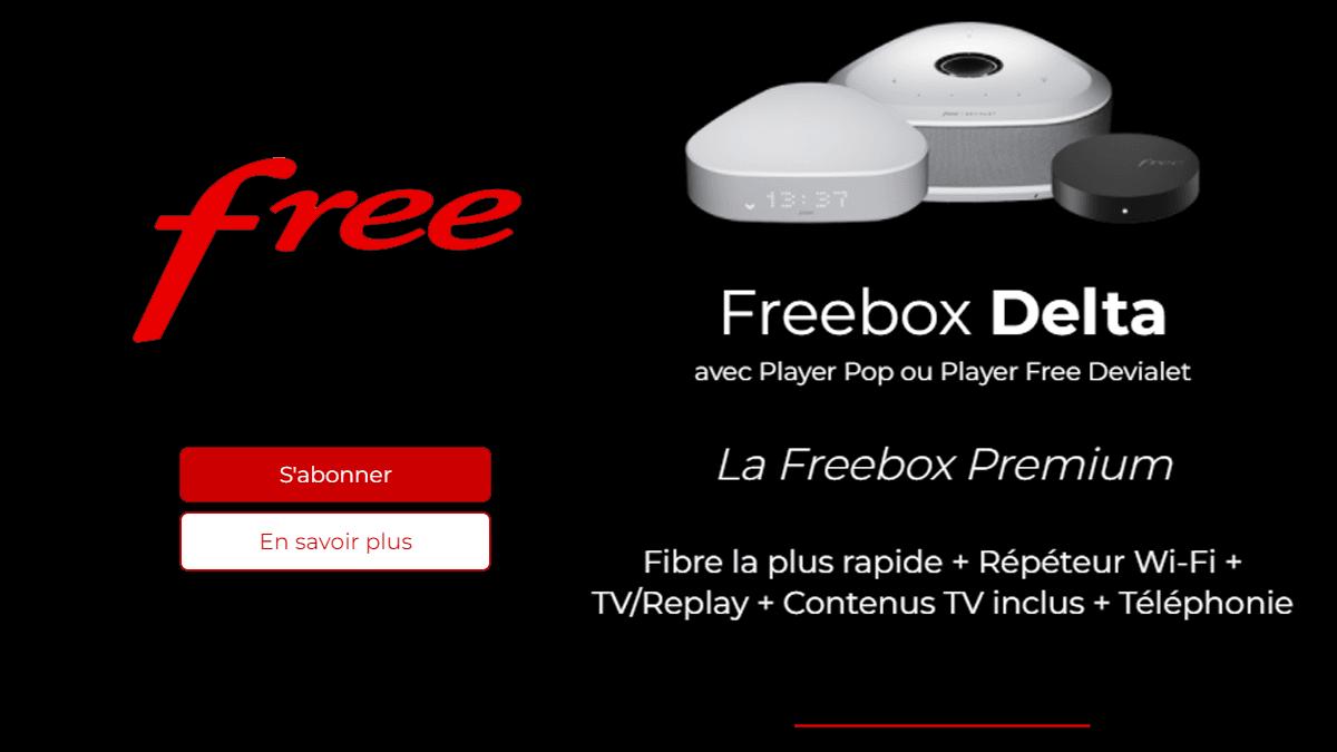 Freebox Delta avec SVOD inclus