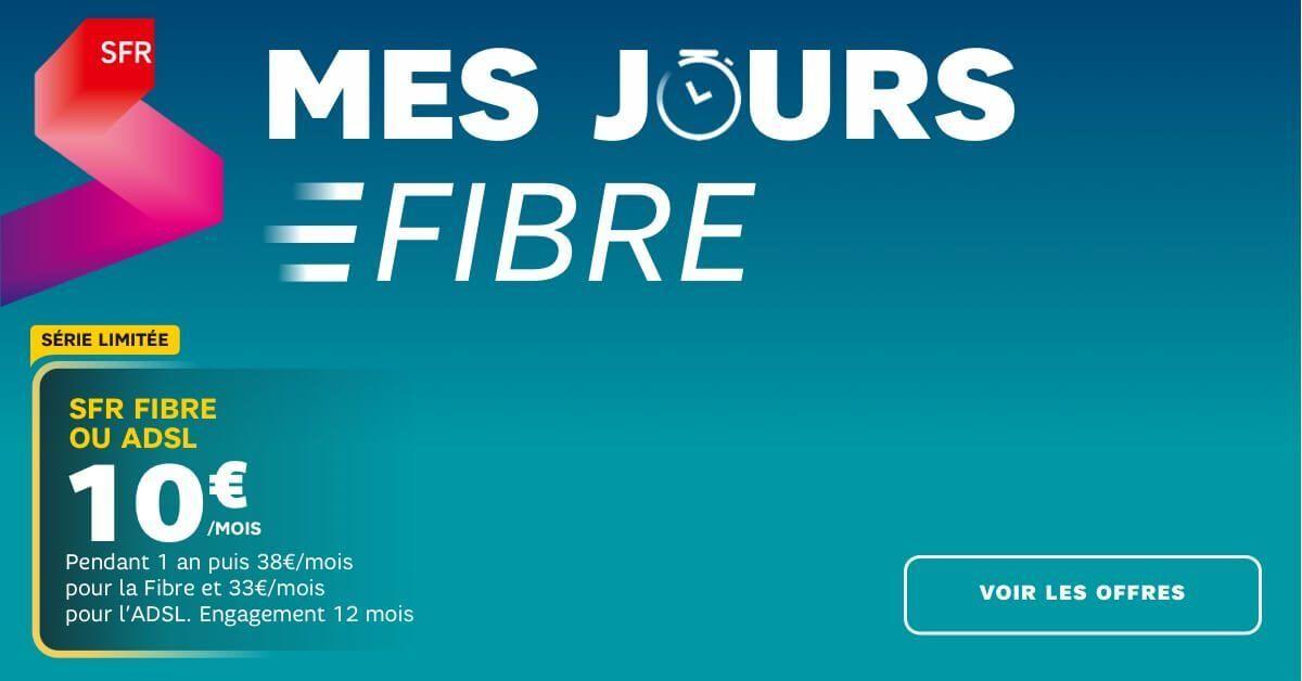 La fibre à 10€ de SFR