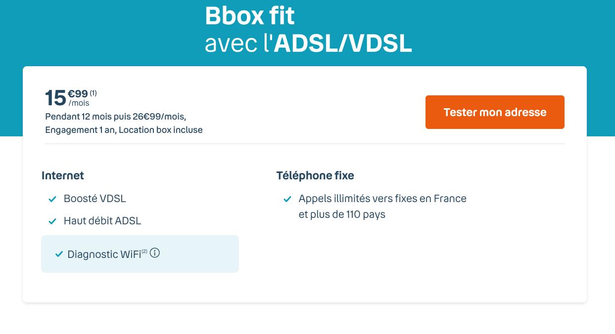 Offres ADSL du moment Bouygues