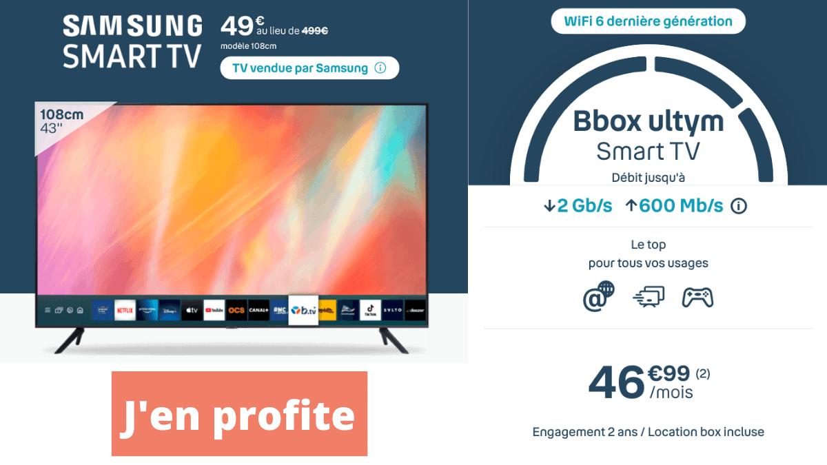 Bbox ultym avec TV