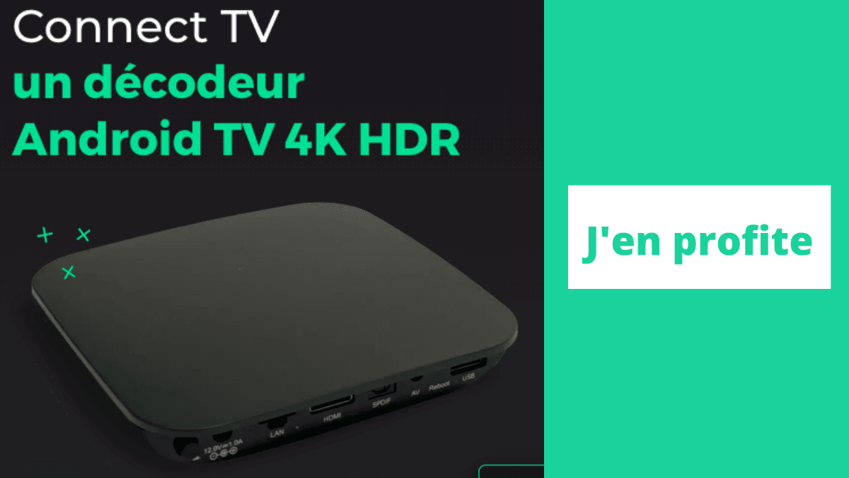 Connect TV avec RED Box