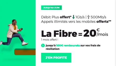 Promo fibre optique RED by SFR.