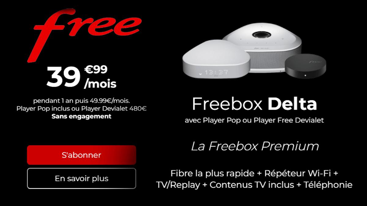 Freebox Delta en promo