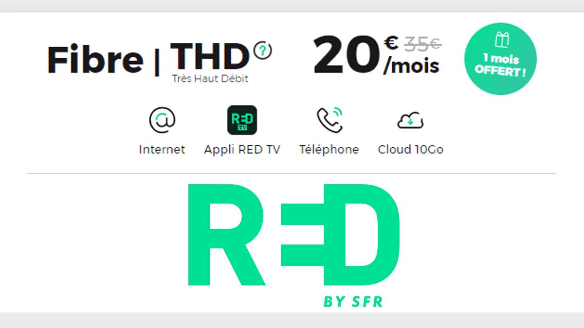 Promo RED Box fibre optique